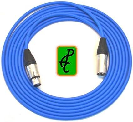 CANARE BLACK QUAD MICROPHONE MIC CABLE NEUTRIK XLR 30 FT.