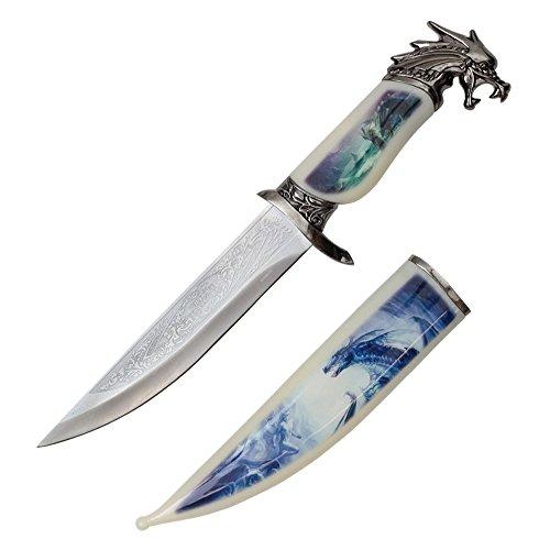 "13.5"" Graphic Dagger with Sheath"