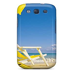 OHrsWMG4647QRBoN MeSusges Yellow Summer Durable Galaxy S3 Tpu Flexible Soft Case