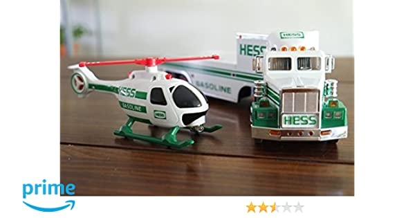 Hess Toy Truck And Helicopter 2006 J*