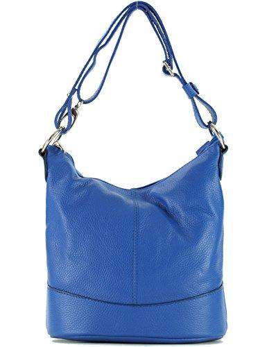 Hombro Francia Bolso SA134414GF Azul Llevar para histoireDaccessoires Floriane de Cuero de al Mujer HpnB6q8