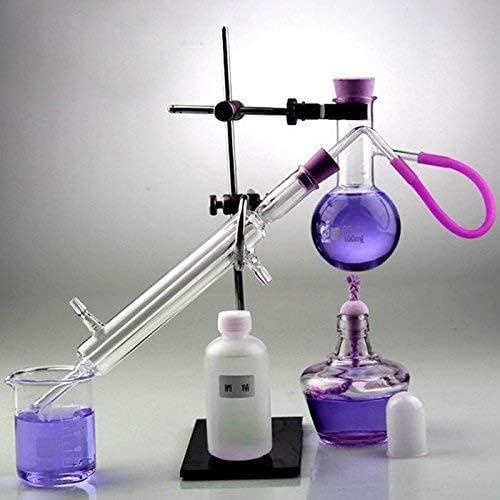 Equipo laboratorio YIGEYI 100ml Lab Alcohol/Destilador de Aceite ...