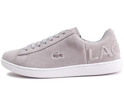 Grau Sneaker Grau Lacoste Carnaby Damen Evo AUHxBq0X