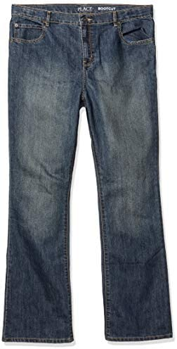The Children`s Place Boys` Bootcut Jeans