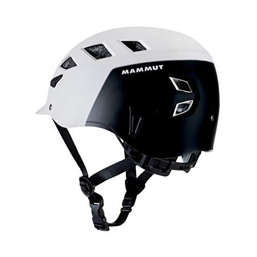 Mammut El Cap Climbing Helmet - White/Black 52-57cm