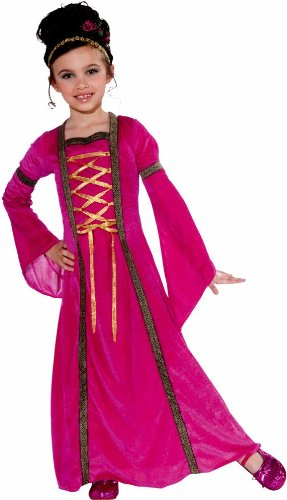 Forum Novelties Pink Velvet Princess Child's Costume, Small (Pink Velvet Princess Costume)
