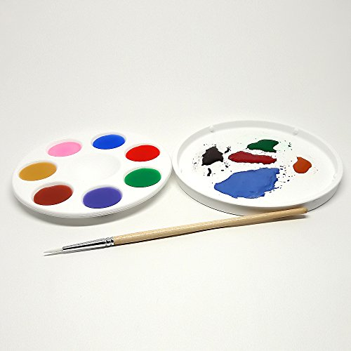 kits-inventive-hobby-model-white-non-stick-unbreakable-synthetic-rubber-paint-tray-palette-with-lid-