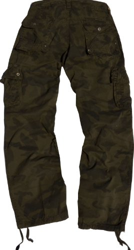 StoneTouch #28C1 Men's Military-Style Cargo Pants 32x32--Brown Camo