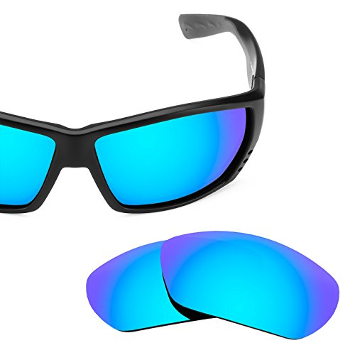 Verres de rechange pour Costa Tuna Alley — Plusieurs options Bleu Glacier MirrorShield® - Polarisés
