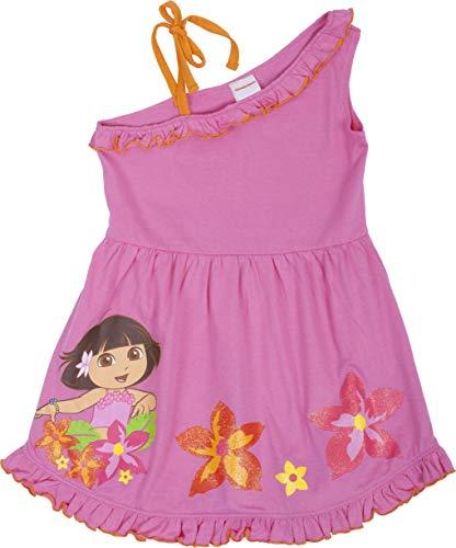 Dora The Explorer Floral Sun Dress in Pink - Toddler (4T) ()