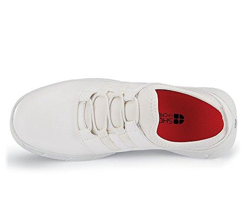 Schuhes for Crews 32709-40/6.5 KARINA Rutschhemmende Rutschhemmende KARINA Turnschuhe, Größe 40 EU, Weiß - 1a42a4