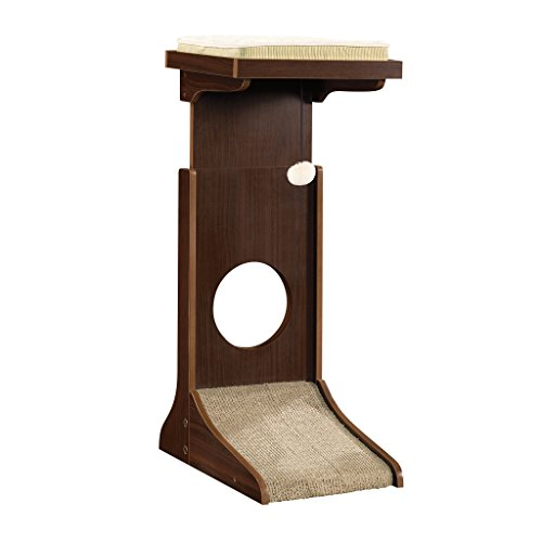 Sauder 416818 ADJUSTABLE HEIGHT CAT TOWER