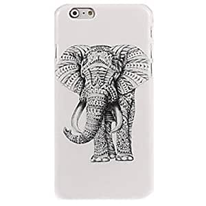 QHY Right Side of The Elephant Pattern Case for iPhone 6