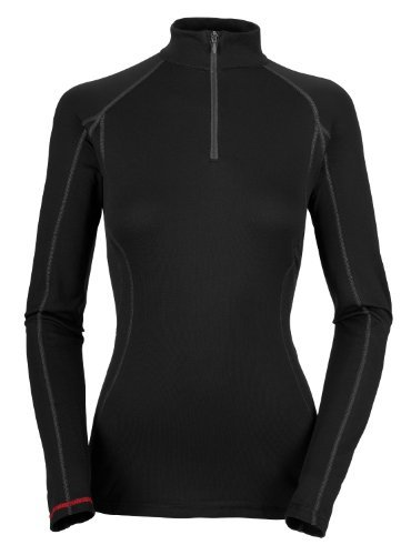 North Face Equipment (The North Face Women's Warm Long Sleeved Zip Neck Black S/10)