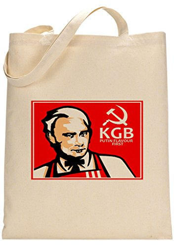 President Putin KGB KFC Parody Custom Made Tote Bag