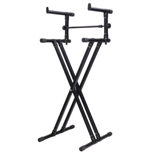 2 TIER DUAL PIANO KEYBOARD STAND