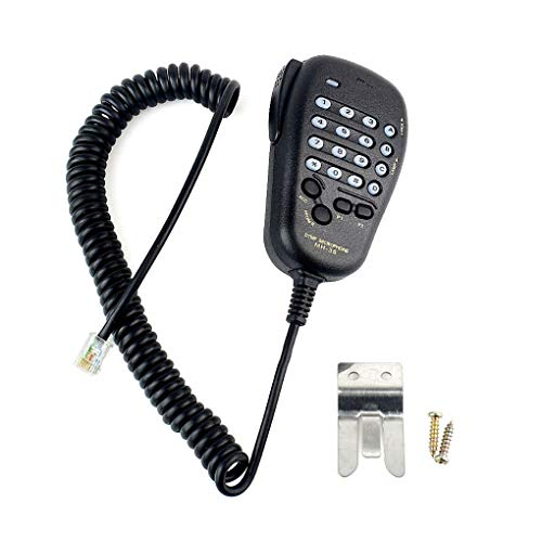 Aulley MH-36 Hand Mic Replacement for Yaesu MH-36B6J DTMF Mic Speaker Replacement for FT-90R FT-2600M FT-3000M FT-8000R FT-8100R