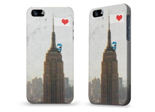 """Hülle / Case / Cover für iPhone 5 und 5s - """"NYC Monster"""" von Claus-Peter Schöps"""