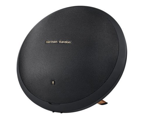 Harman Kardon Onyx Studio 2 Wireless Bluetooth Speaker System with Rechargeable Battery and Built-in Microphone - Black - (Certified Refurbished)