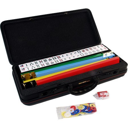Classic Games Collection American Version Deluxe Mah Jong (Deluxe American Mahjong Set)