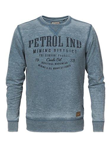 Petrol Industries Herren Sweatshirt Shirt Pullover Grün S M L XL XXL M-FW16-SWR433 Sweater Round Neck