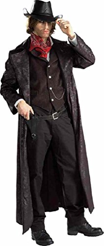 Rubie's Western Gunslinger Outlaw Cowboy Halloween Costume Adult XL (Jacket Size 44-46) -