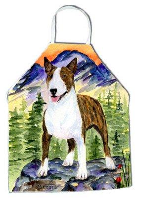 Caroline's Treasures SS8167APRON Bull Terrier Apron, Large, Multicolor