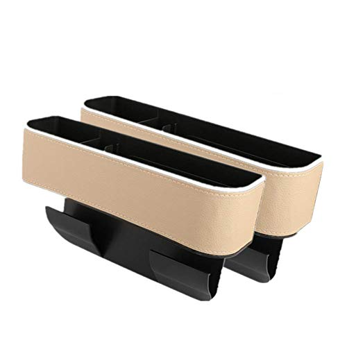 Car Seat Gap Filler Cup Holder Multifunctional Car Seat Organizer PU Leather Seat Catcher Gap Filler Car Seat Gap Storage Box