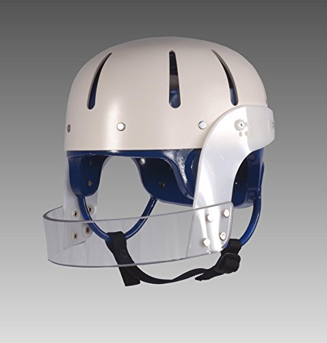 (Danmar Products 9824 Hard Shell w/face Guard, Blue, med Helmet with Face bar, Royal Blue, Medium)