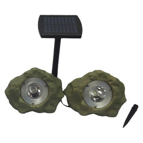 Smith & Hawken Rock Spot Light - 2 Pack