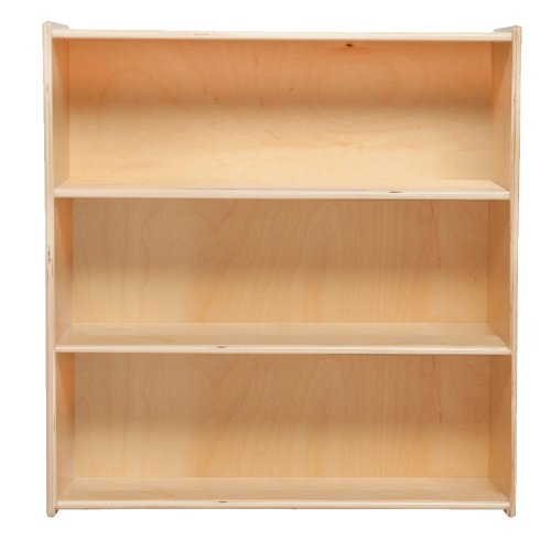 Contender C12936F Bookshelf, 33-7/8''H, Assembled by Wood Designs