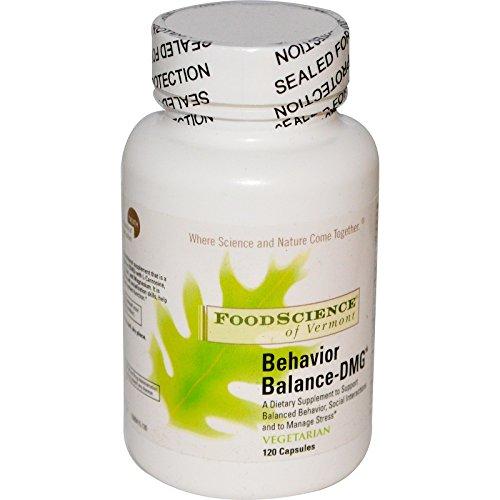 FoodScience, Behavior Balance-DMG, 120 Capsules - 2pc