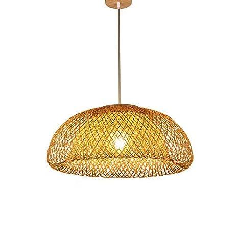 Araña de luces de bambú, lámparas de Salón Restaurante Salón ...