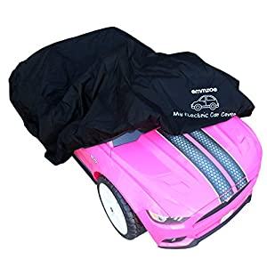 Emmzoe Ride-On Car Cover for Kids Electric Vehicle - Universal Fit, Water Resistant, UV Rain Snow Protection from Emmzoe