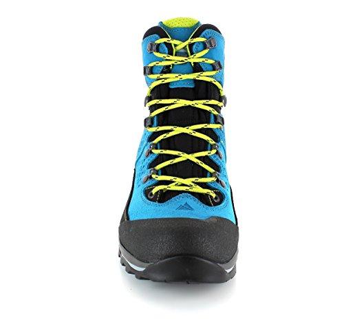 Dachstein - Botas de senderismo de Piel para hombre Azul azul 43 - Sky/Black