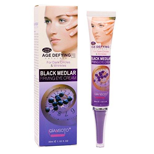 f2a6b9c3ccc Amazon.com   Imozy224(TM) Black Goji Eye Cream Against Puffiness Remove  Dark Circles Under The Eyes Firming Instantly Ageless Anti-Aging Anti-Puff  Cream   ...