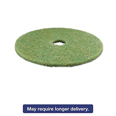 "3M MCO 18052 MMM18052 Low-Speed Top Line Auto Scrubber Floor Pads 5000, 20"", 5 per Carton, Sea Green (Pack of 5)"