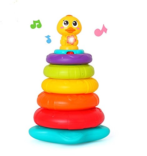Rainbow Stacking Colorful Stackers Toddler product image