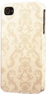 Antique Cream Damask Pattern Dimensional Case Fits Apple iPhone 5c