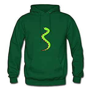 Snake Fashionalble X-large Hoodies Designed For Women Green
