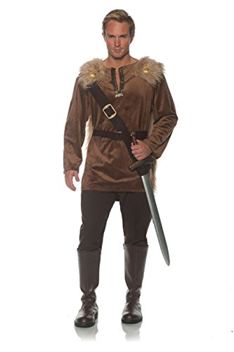 Underwraps Men's Huntsman Costume, Brown, One Size -