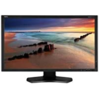 NEC Display MultiSync P232W-BK 23 LED Monitor, 16:9, 8ms, 1920x1080, 250 Nit, 1000:1, DVI/HDMI/VGA/USB/DisplayPort, Black