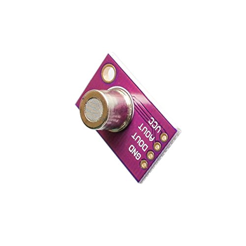 SMAKN MS1100 MS-1100 VOC Gas Sensor Module Formaldehyde Benzene Concentration Gas Induction 100mA Breakout for Arduino by SMAKN