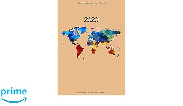 2020 Wochenplaner Din A4 Fur 2020 Karierte Seiten 1 Woche Auf 2