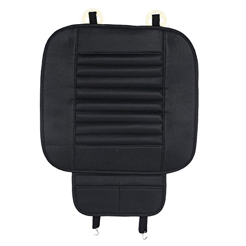 unknown pu leather bamboo car front seat protect mat cover pad breathable chair cushion for sale. Black Bedroom Furniture Sets. Home Design Ideas