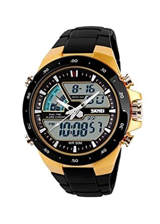 Tyrant gold fashionable menu0027s outdoor sports dual display electronic watches jelly watch studentu0027s personality  Golden  sc 1 st  Amazon.com & Amazon.com: Tyrant gold fashionable menu0027s outdoor sports dual ...