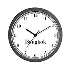 CafePress Bangkok Classic Newsroom Wall Clock Unique Decorative 10 Wall Clock