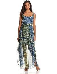 Suzi chin boatneck lace dress