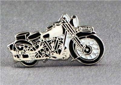 Brough Superior Motorbike Enamel Pin Badge