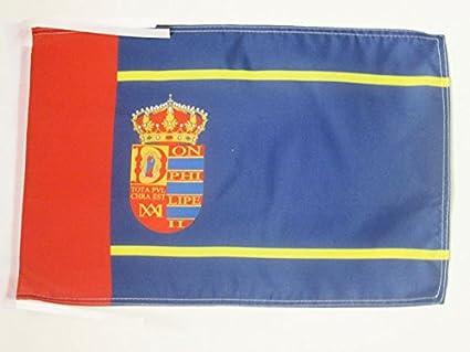 AZ FLAG Bandera de MOSTOLES 45x30cm - BANDERINA DE LA Ciudad DE ...